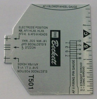 Beckett T501 Multipurpose Gauge