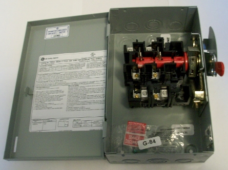 TG3221 30A disconnect switch on