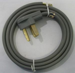picture of 5' copper 3-wire dryer cord
