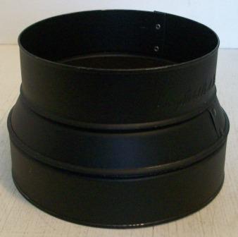 Black Stove Pipe Reducer