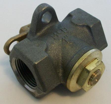 Lock Shield Gas Valves
