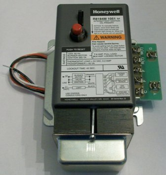 shed wiring diagram for power honeywell r8184m 1051 primary with air conditioning connection