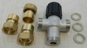 Honeywell AM102R-US-1 mixing valve