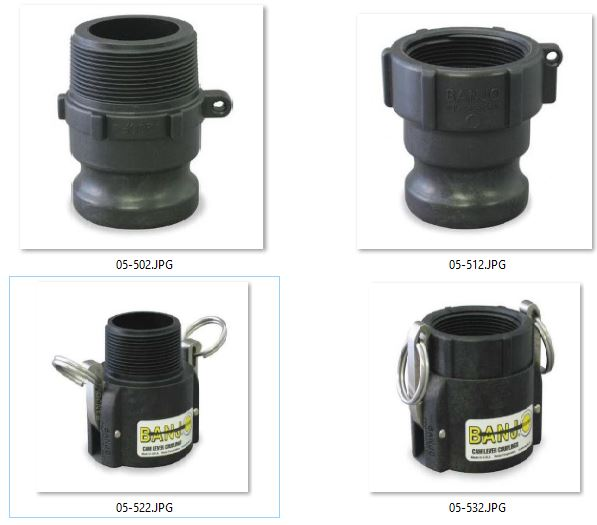 Cam Lever Fittings