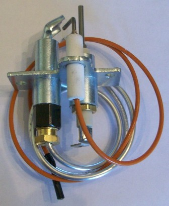 Goodman Heat Pumps >> Reznor 97535 propane pilot assembly with flame sensor