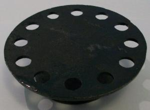 """cover only for 6 x 6"""" cast iron bell trap"""