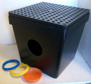 Tuf-Tite 16x16 drain sump with grate