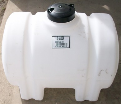 35 Plastic Horizontal Leg Tank