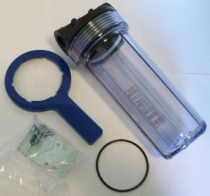 """10"""" clear water filter canister"""