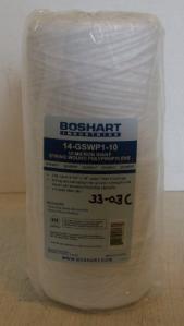 string type dirt/rust 10 micron filter, 4 1/2 x 10