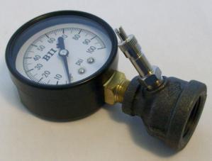 "100 psi 3/4"" test gauge"
