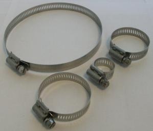 hose clamps and nut drivers