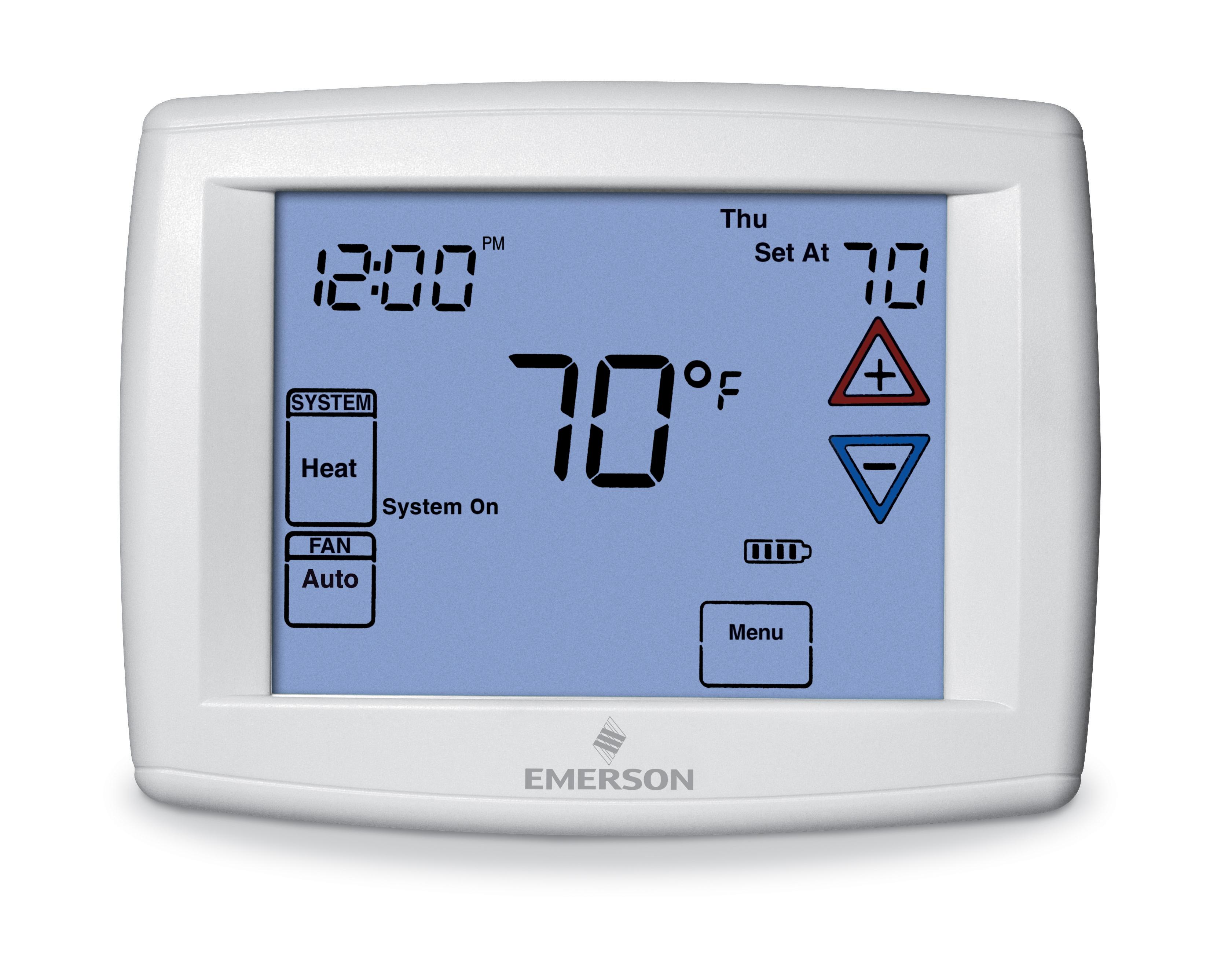 White 24v Thermostat