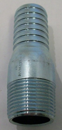Galvanized insert x male thread adapters