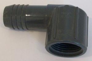 PVC insert x female thread 90 degree ells