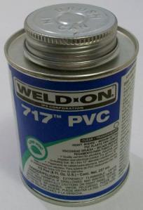 1/2 pint Weld-on 782 heavy body pvc cement