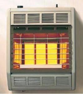 Hearthrite 3 Brick Lp Gas Heater
