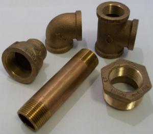 brass threaded fittings, threaded nipples, couplings, tees, plugs, caps, bushings,unions and ells