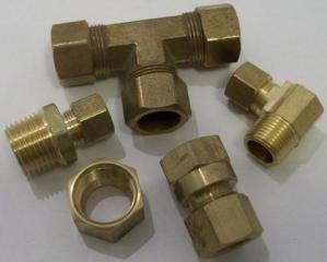 Plum Brass Compression-groups