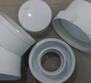 Sewer and drain pipe and fittings